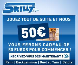 Skill7: 50€ gratuit